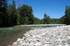 река methow Стоковая Фотография