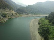 Река Mizoram Стоковая Фотография