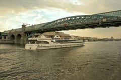 река moscow Стоковые Изображения RF