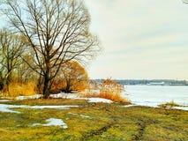 река moscow Стоковое Изображение