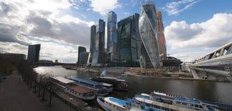 Река Moskva, Москва, русский город Вашингтон, Российская Федерация, Россия стоковая фотография