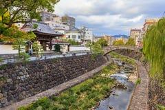 Река Naka в Нагасаки Стоковые Фото