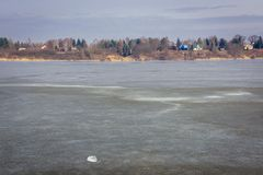 Река Narew в Польше стоковые фотографии rf