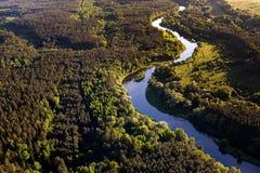 Река Neris Стоковые Фотографии RF