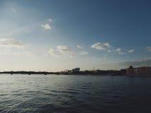 Река Neva Стоковое Фото