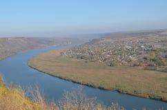 Река Nistru Стоковая Фотография RF