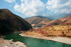 река nu Стоковые Изображения