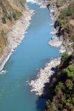 река nujiang Стоковые Фото