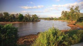 река nyiro ewaso Стоковое Фото