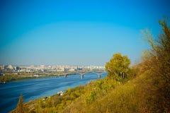 Река Oka Стоковые Изображения RF