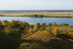 Река Oka Стоковое Изображение
