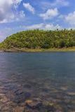 Река Omkareshwar - Narmada Стоковые Фотографии RF