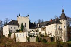 река ottensheim danube замока Стоковое Изображение RF