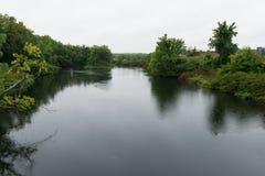 Река Pawtuxet Стоковые Фото