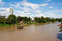 река PING-утилиты Стоковая Фотография