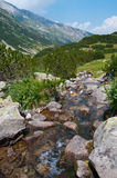 река pirin горы стоковое изображение