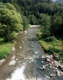 Река Prahova Стоковые Фотографии RF