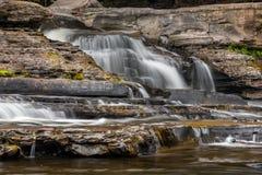 река presque острова каскада Стоковое Изображение RF