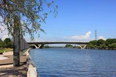 Река Qijiang Стоковая Фотография RF