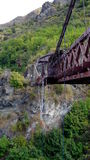 Река Queenstown Kawerau каньона шкиперов Стоковое Фото