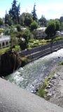 Река Quilca, также известное как река Chili страны Перу Стоковое Изображение