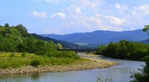 река railway моста Стоковая Фотография