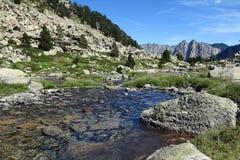 Река Ratera Стоковое Изображение RF