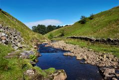 река rawthey Стоковое фото RF