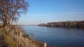 Река Rhein 1 Serie Стоковые Изображения RF