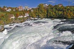 река rhine 2 каскадов Стоковые Фотографии RF