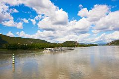 река rhone стоковое фото rf