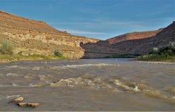 река san juan Стоковые Фото