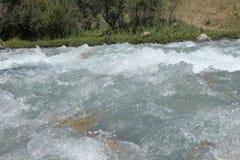Река Sayramsu Стоковая Фотография