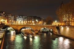 Река Seine Стоковое Изображение RF