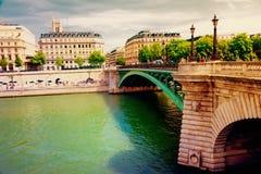 Река Seine Стоковая Фотография RF