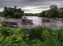 Река Seneca стоковое изображение rf