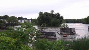Река Seneca акции видеоматериалы