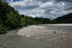 Река Setta Стоковая Фотография RF