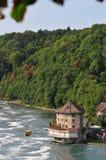 Река Shaffhuzen стоковые фотографии rf