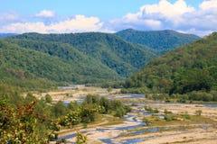 Река Shahe горы Стоковое Изображение RF