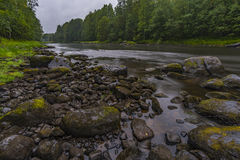 Река Shuya Стоковые Фотографии RF