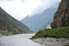 река sichuan Стоковые Фото