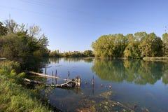Река Sile стоковое изображение
