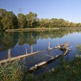 Река Sile стоковое фото rf