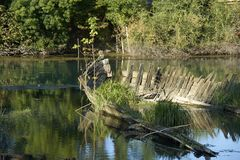 Река Sile стоковые изображения