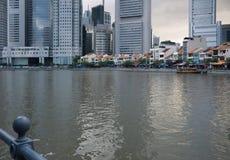 река singapore городского пейзажа города Стоковая Фотография