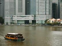 река singapore городского пейзажа города Стоковое Фото