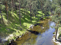 река soria Стоковое Изображение RF