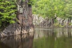Река St Croix сценарное Стоковое фото RF