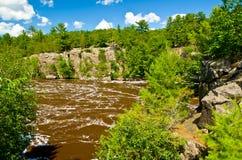 Река St Croix стоковое изображение